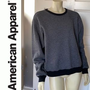 American Apparel crew neck sweatshirt